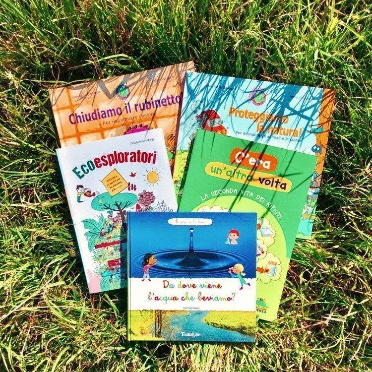 libri bambini ecologia ambiente natura eco friendly