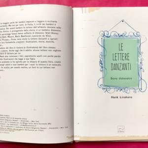 Le lettere danzanti libro bambini