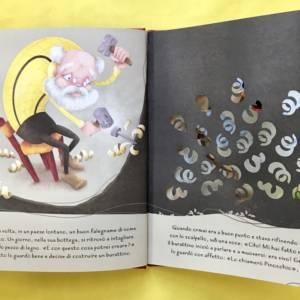 Pinocchio fiabe intagliate libro bambini