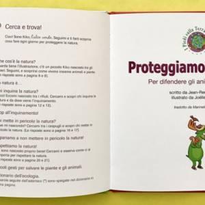 Proteggiamo la natura libro bambini