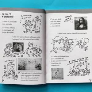 Leonardo e la penna che disegna il futuro libro bambini