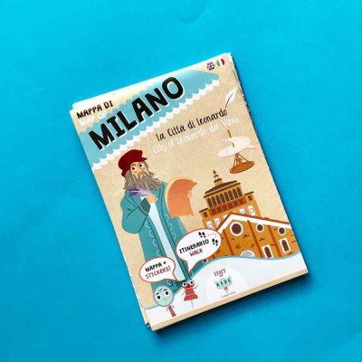 Mappa di Milano – La città di Leonardo