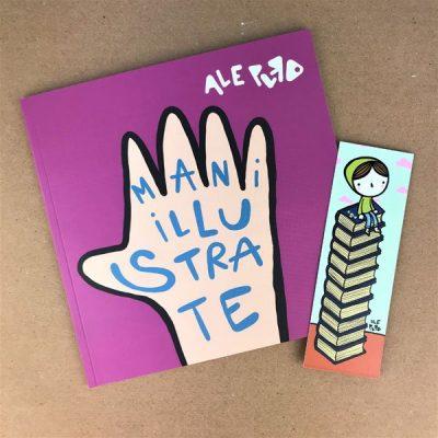 Mani Illustrate Ale Puro libro Caramelle di Carta