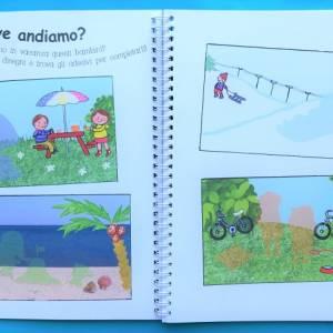 Vacanze il mio primo manuale creativo libro bambini