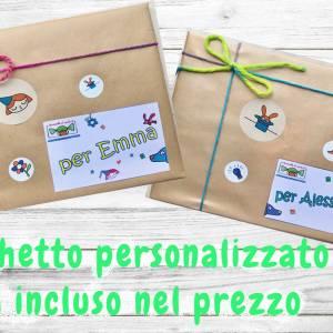 Pacchetto personalizzato libri per bambini
