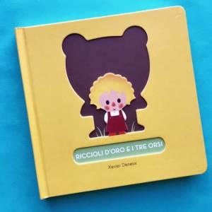 Riccioli d'oro e i tre orsi libro bambini fiaba bambini