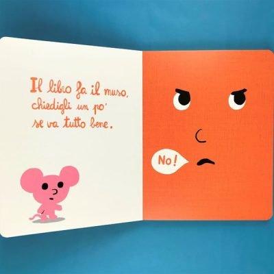 Il libro che dice no! Ediz. a colori - Cédric Ramadier,Vincent Bourgeau