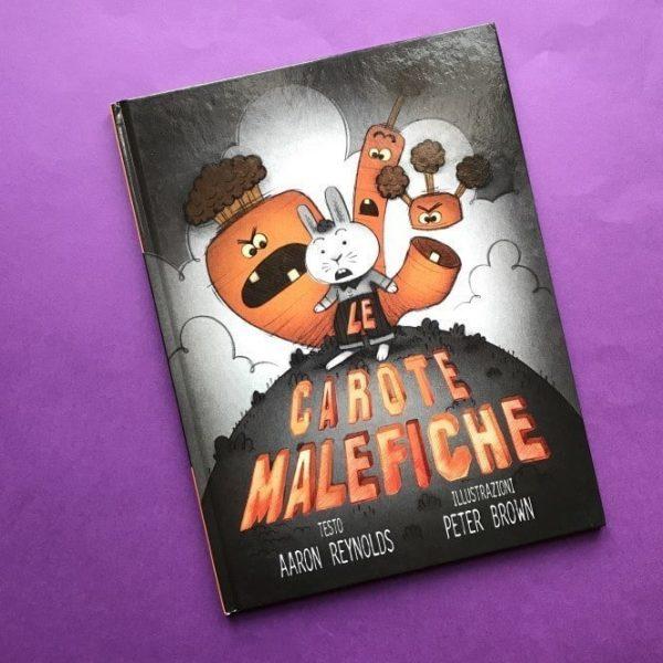 Le carote malefiche libro per bambini halloween