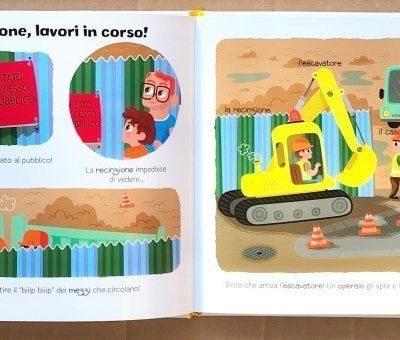 Il cantiere libri per bambini gru escavatori