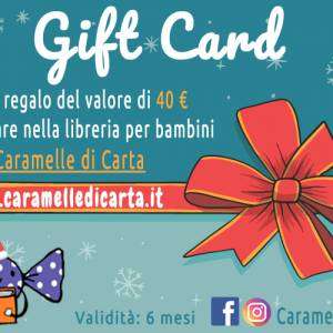 Buono regalo 40 euro libri per bambini gift card libreria bambini