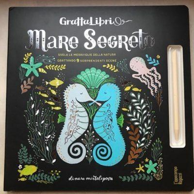 Gratta libri mare segreto libri per bambini