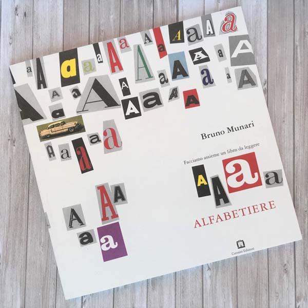 Alfabetiere. Facciamo insieme un libro da leggere. Munari, B.