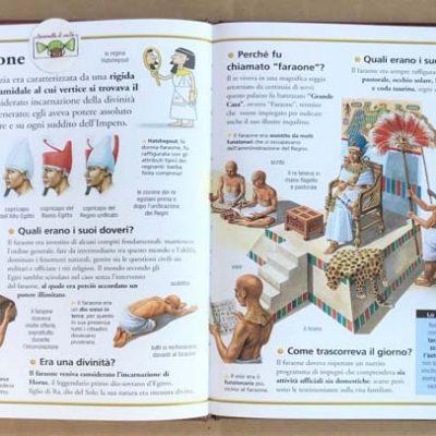 Viaggiare nel tempo. Egizi - Joybook