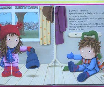 Viva l'inverno! Giulio e Giada. Ruth Wielockx