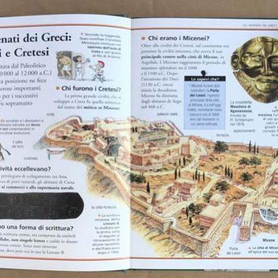 Greci. Viaggiare nel tempo. Ediz. Joybook