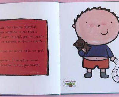 La mia giornata. Il grande libro di Mattia. Ediz. illustrata - Liesbet Slegers