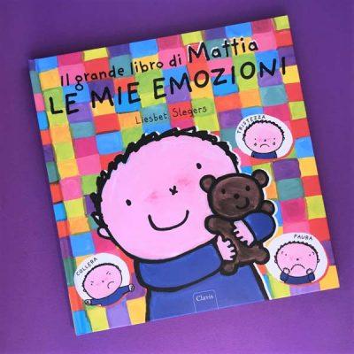 Le mie emozioni. Il grande libro di Mattia. Ediz. illustrata - Liesbet Slegers