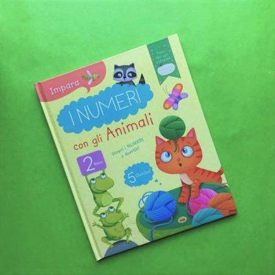 Impara i numeri con gli animali libro per bambini pregrafia prescuola