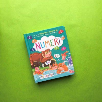 Numeri libro per bambini pre scuola pregrafismo