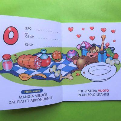 Numeriere libro per bambini numeri