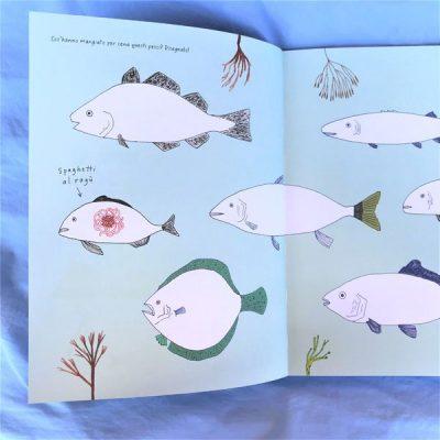 Disegnare in fondo al mare libro estate bambini