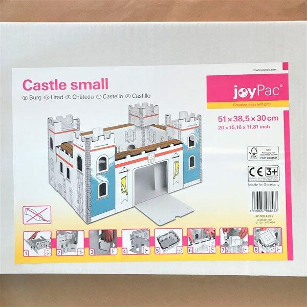 Castello da colorare Joypack libri per bambini castello da costuire bambini