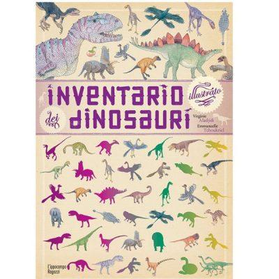 Inventario dinosauri libri per bambini