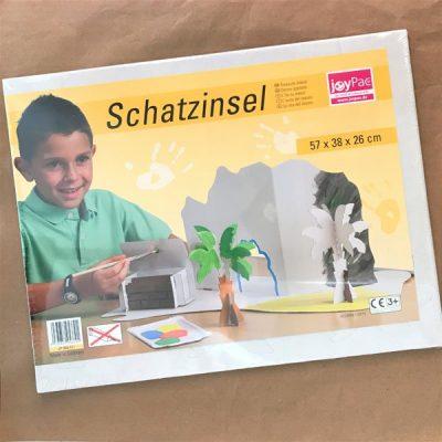 Isola del tesoro in cartone da costruire Joypack bambini libri per bambini