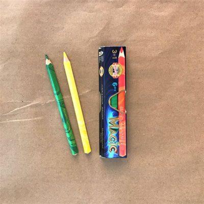 Matitoni Magic triangolari matite per bambini colori bambini