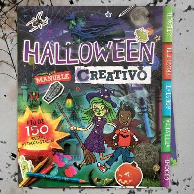Halloween manuale creativo con adesivo libro bambini halloween libri bambini