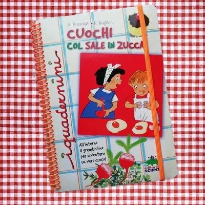 Cuochi sale in zucca editoriale scienza libro bambini ricette bambini cucina