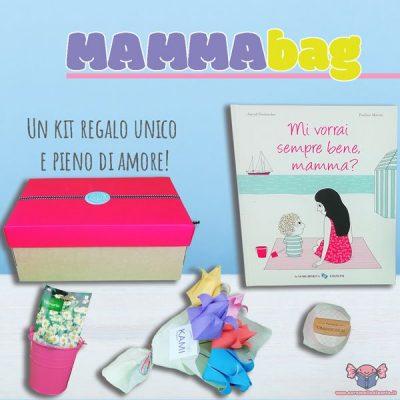 Mammabag festa della mamma regalo festa della mamma bambini regalo mamma