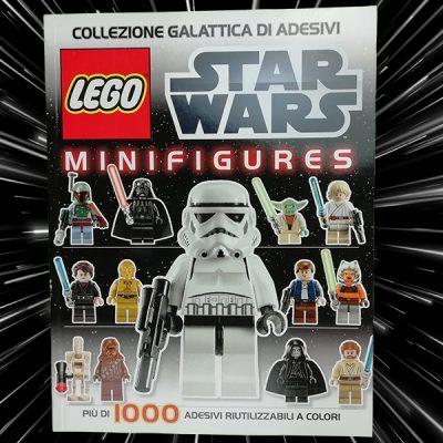 Star Wars Lego Minifigures Lego Libri per bambini adesivi Star Wars Guerre Stellari